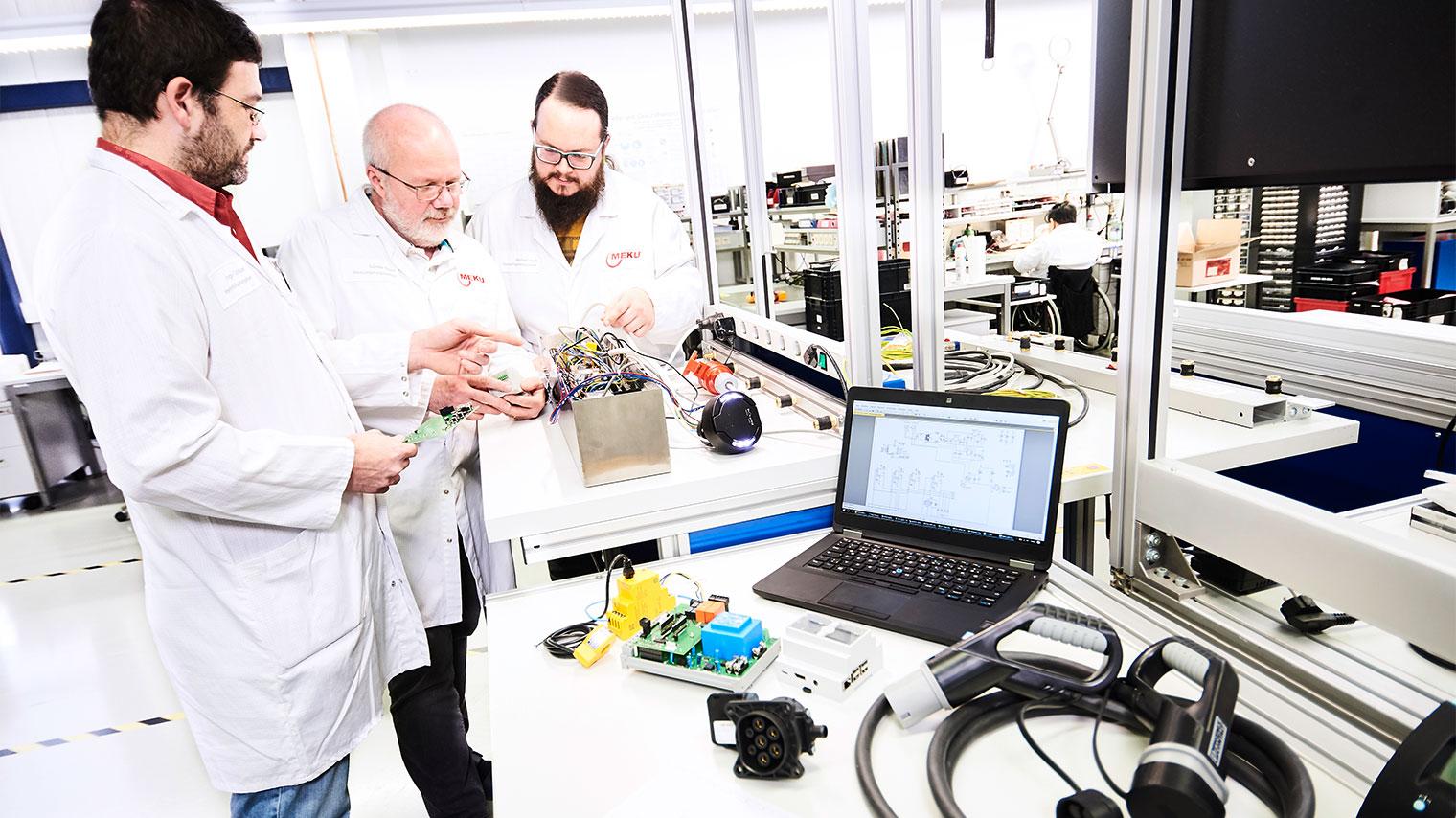 MEKU Elektronik Entwicklungskompetenz E-Mobilität Ladesäule