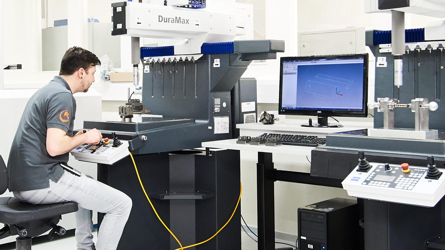 MEKU Kompetenzzentrum Kunststoff, Qualitätsmanagement, Bemusterungsabteilung
